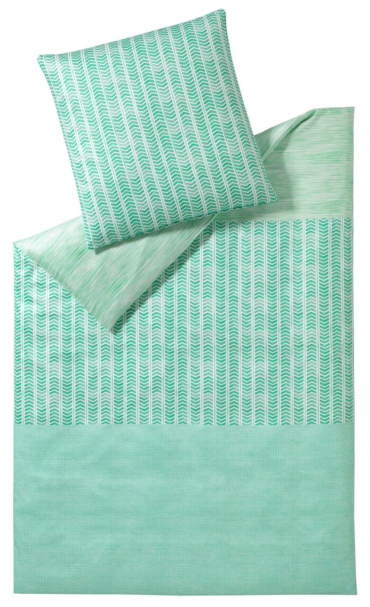 ELEGANTE Bettwäsche, elegante, »Pazifik«, mit unterschiedlichen Mustern