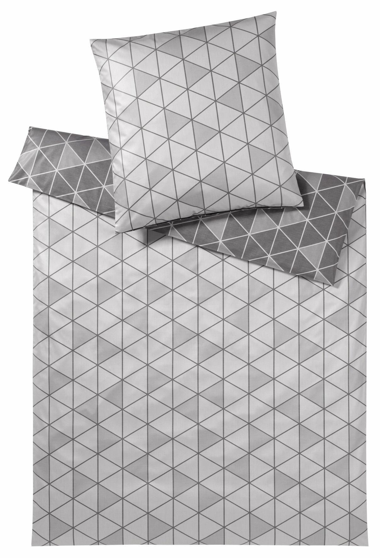 ELEGANTE Bettwäsche, elegante, »Triangle«, mit Dreiecken