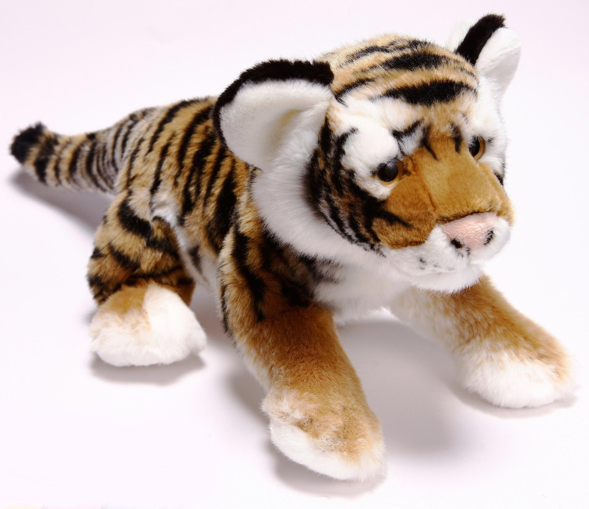 HEINRICH BAUER Heinrich Bauer Plüschtier, »Tiger liegend, ca. 36 cm, aus der Serie Blickfänger«