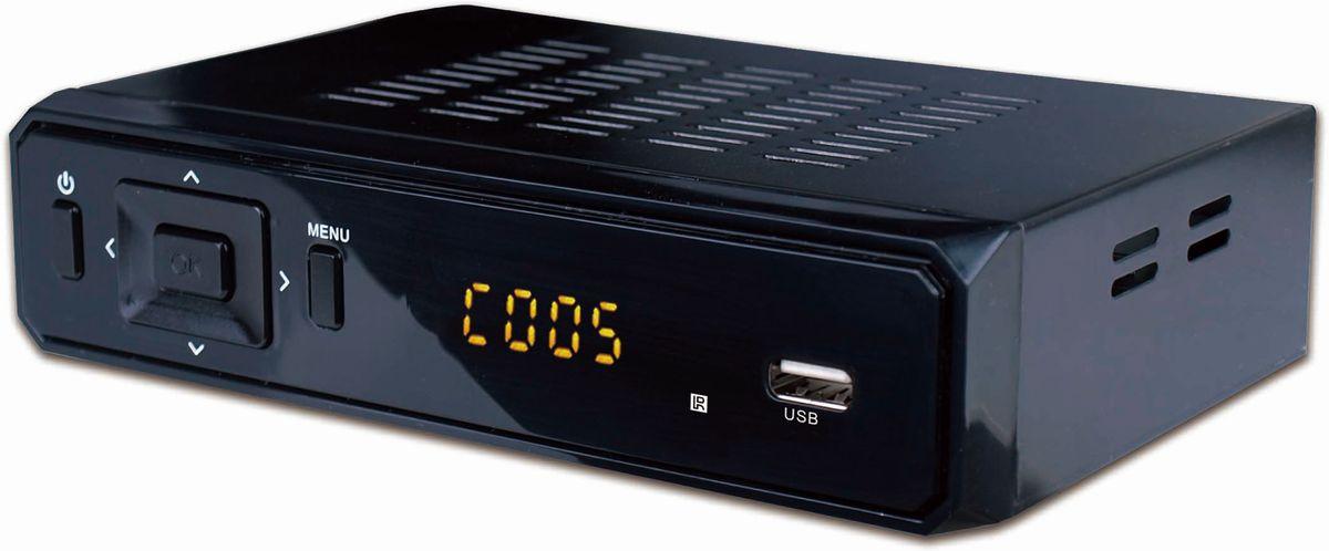 DENVER Denver DVB-S2 Satelliten-Receiver »DVBS-202HD mit USB-Anschluss«
