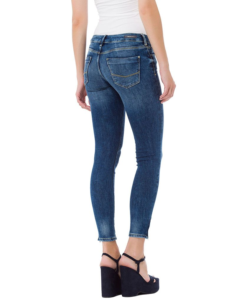 CROSS JEANS ® CROSS Jeans ® Super Skinny 7/8 Jeans mit Reißverschluss am Saum »Giselle«