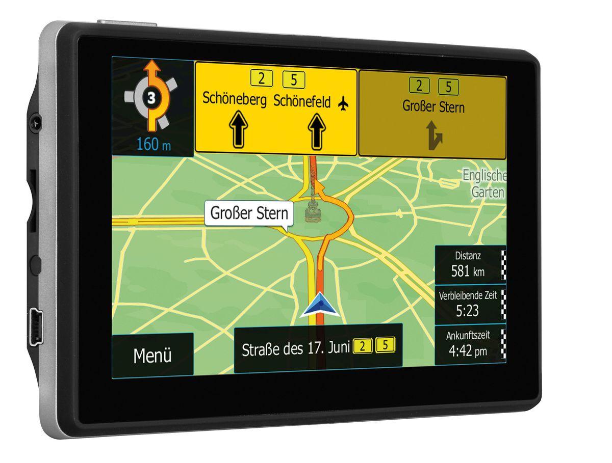 BLAUPUNKT Blaupunkt Navigationsgerät »Travelpilot 53² CE LMU«