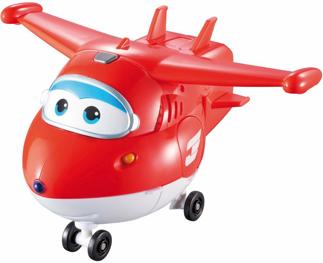 GIOCHI PREZIOSI Giochi Preziosi Transform Flugzeug mit Sound, »Super Wings, Jett«
