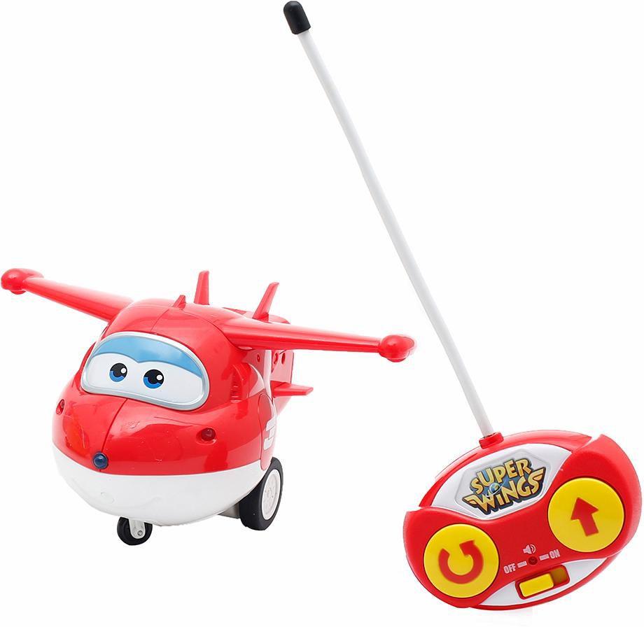 GIOCHI PREZIOSI Giochi Preziosi RC Flugzeug mit Licht und Sound, »Super Wings, Jett«