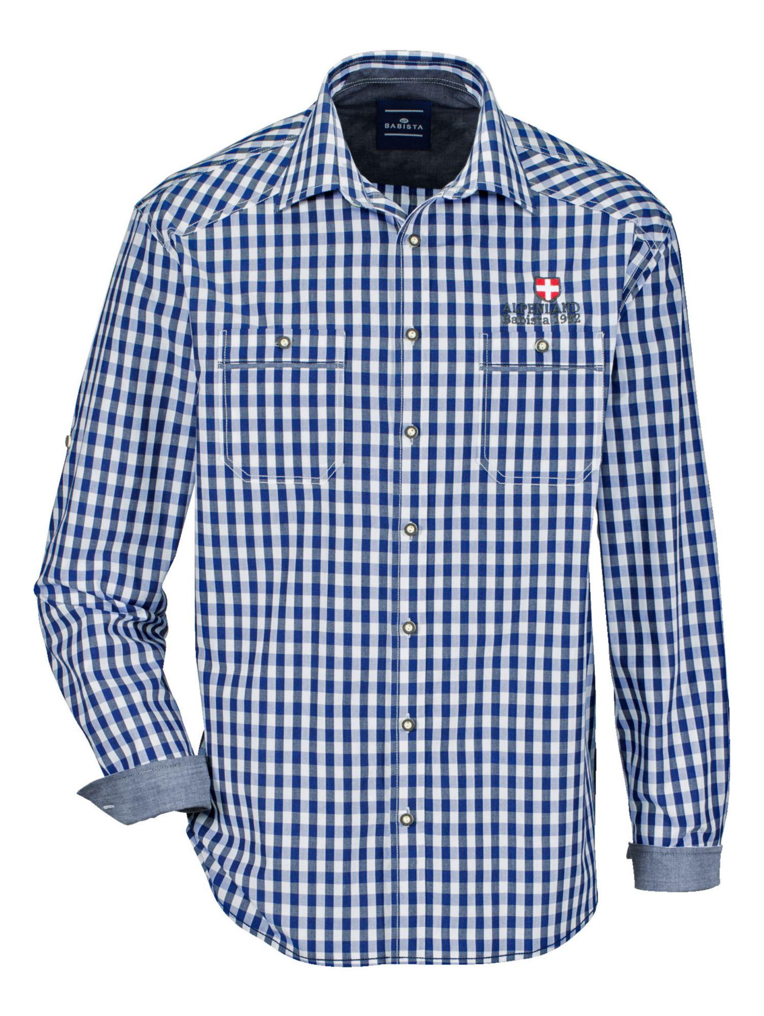 BABISTA Babista Trachtenhemd mit Krempel-Funktion