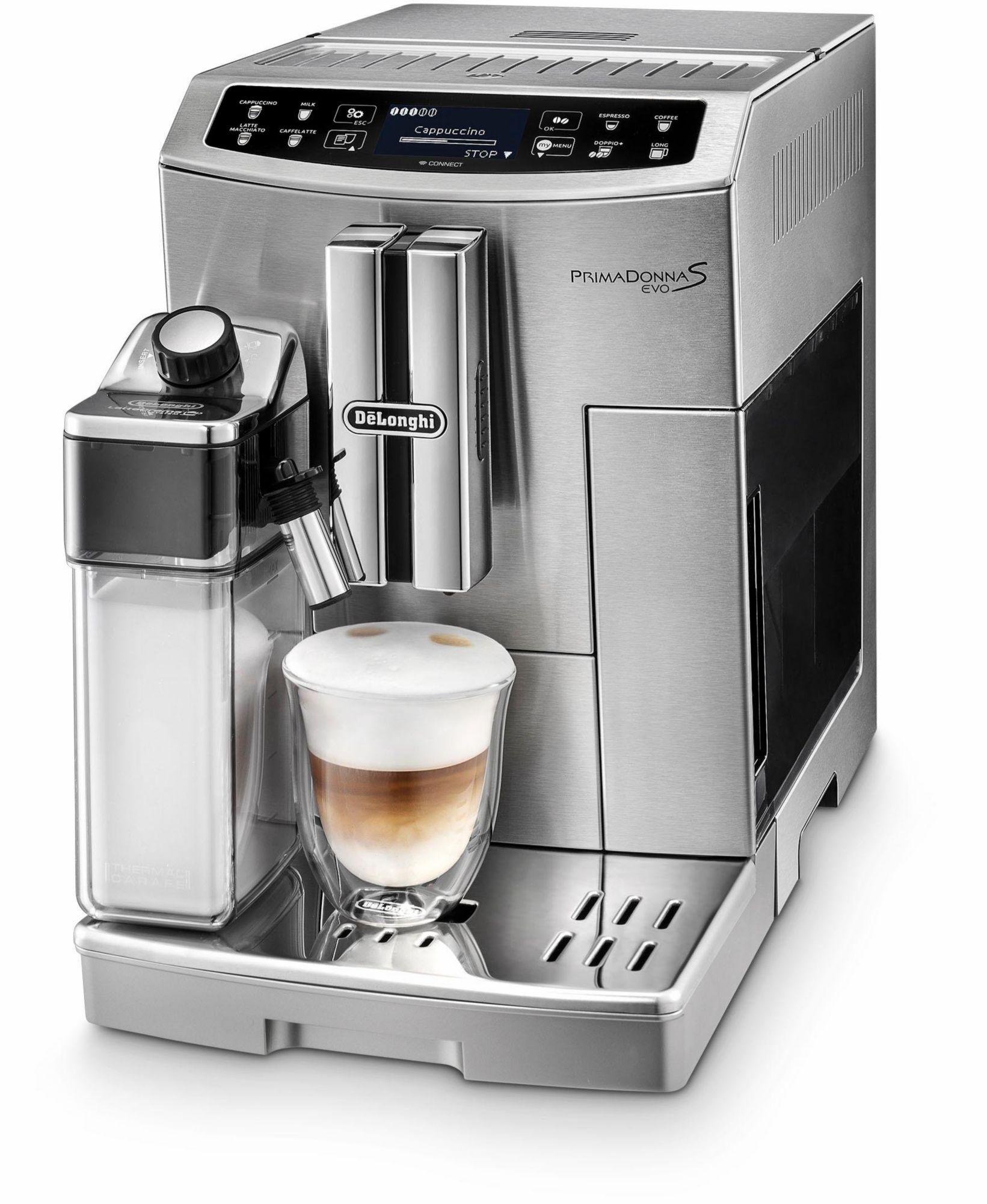DELONGHI De'Longhi Deutschland Kaffeevollautomat ECAM 510.55.M, Silber/Edelstahl