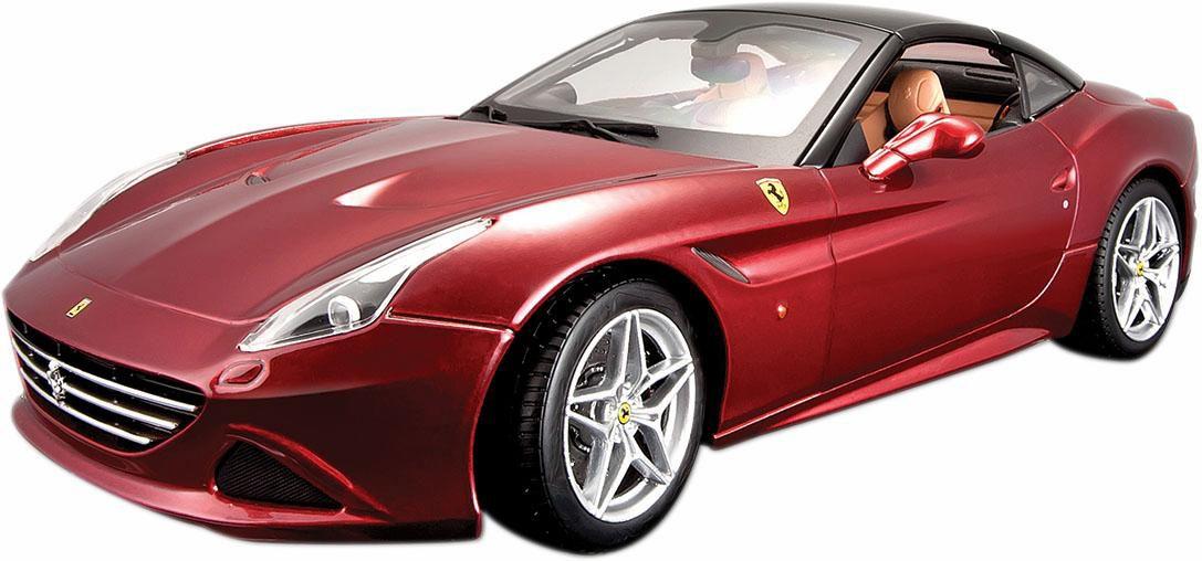 BBURAGO Bburago® Sammlerfahrzeug Modellauto im Maßstab 1:18, »Ferrari California T, rot«