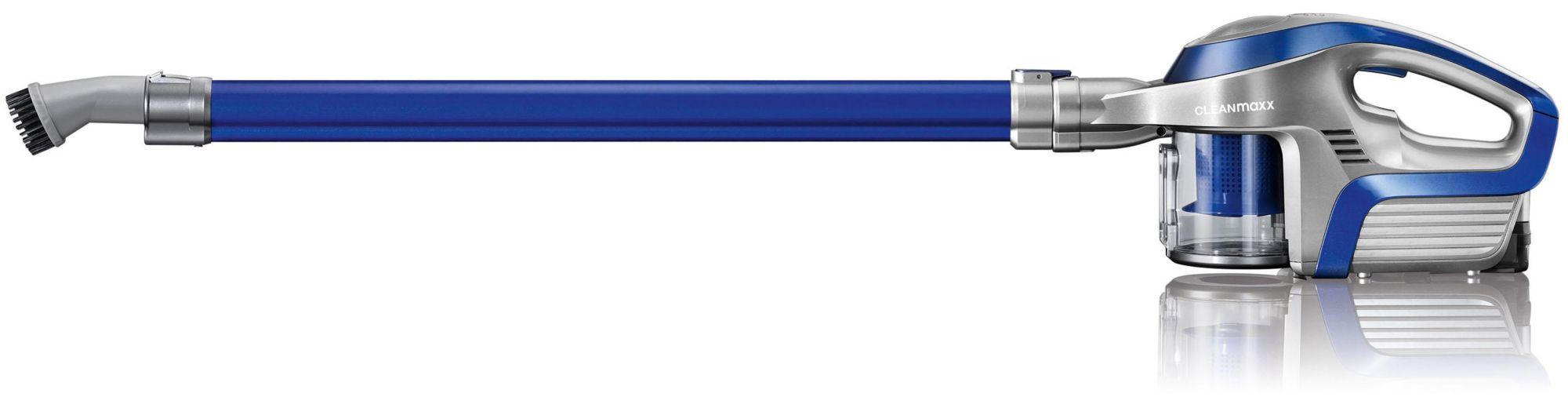 CLEAN MAXX Clean Maxx Akku-Zyklon-Staubsauger, 2in1 14,8V, blau/silber