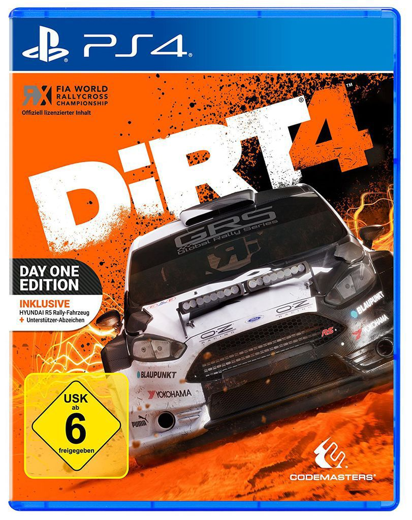 CODEMASTERS Codemasters Playstation 4 - Spiel »DiRT 4 Day One Edition«