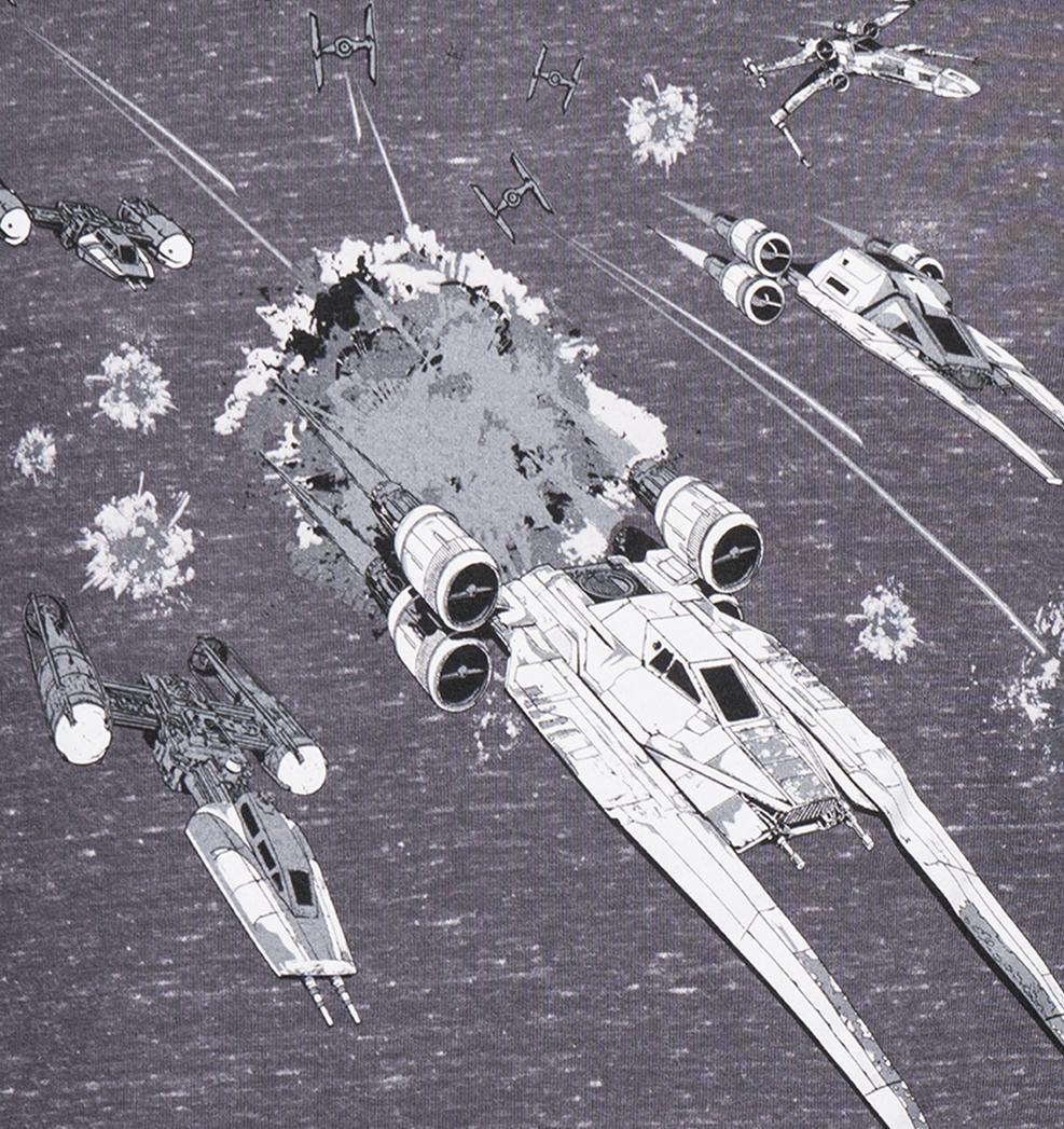 GOZOO Gozoo T-Shirt »Star Wars - Rogue One Rebel Alliance Fleet«