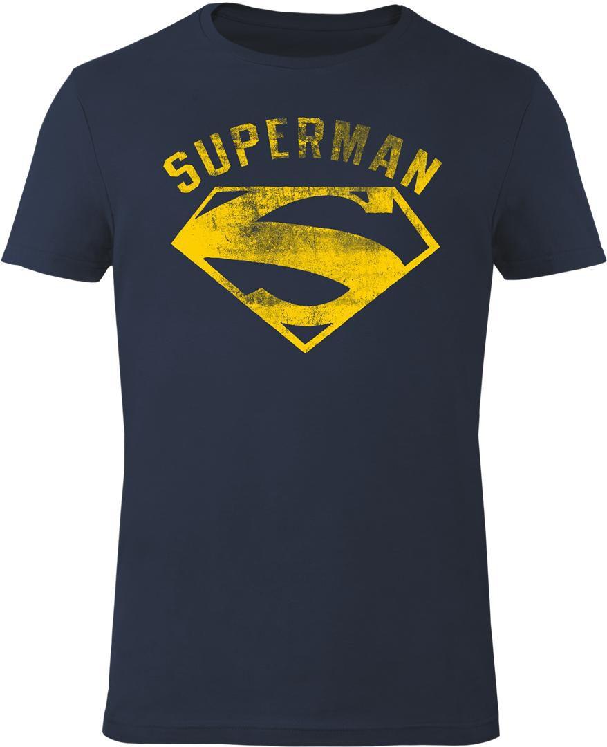 GOZOO Gozoo T-Shirt »Superman - Vintage Flock«