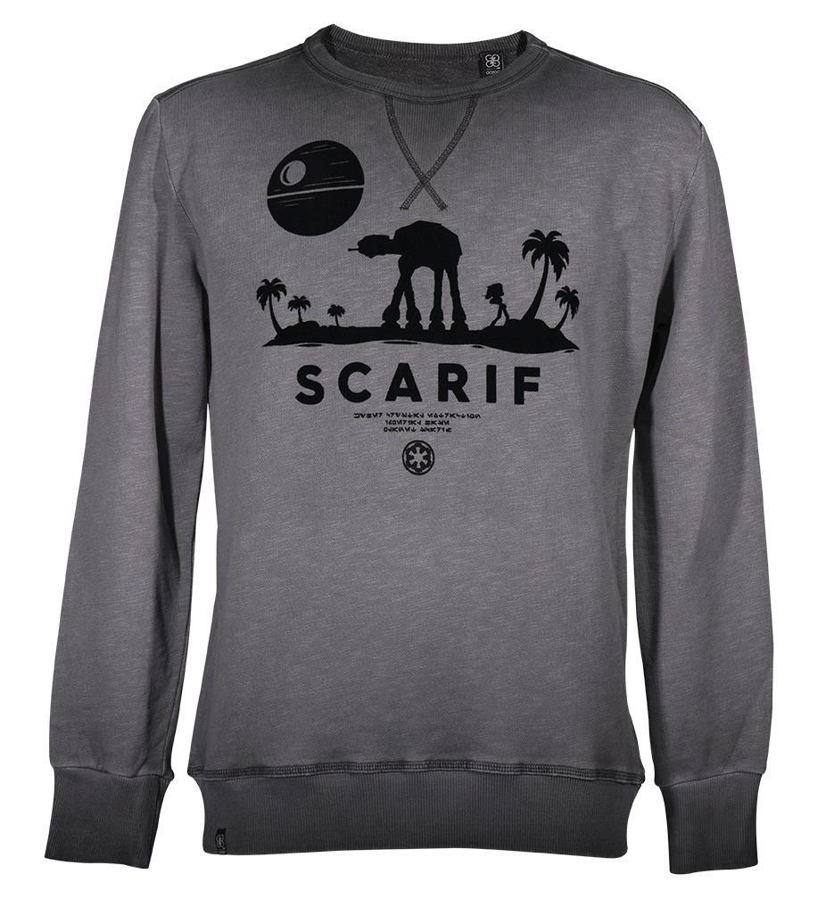GOZOO Gozoo Sweatshirt »Star Wars - Rouge One Scenic Scarif«