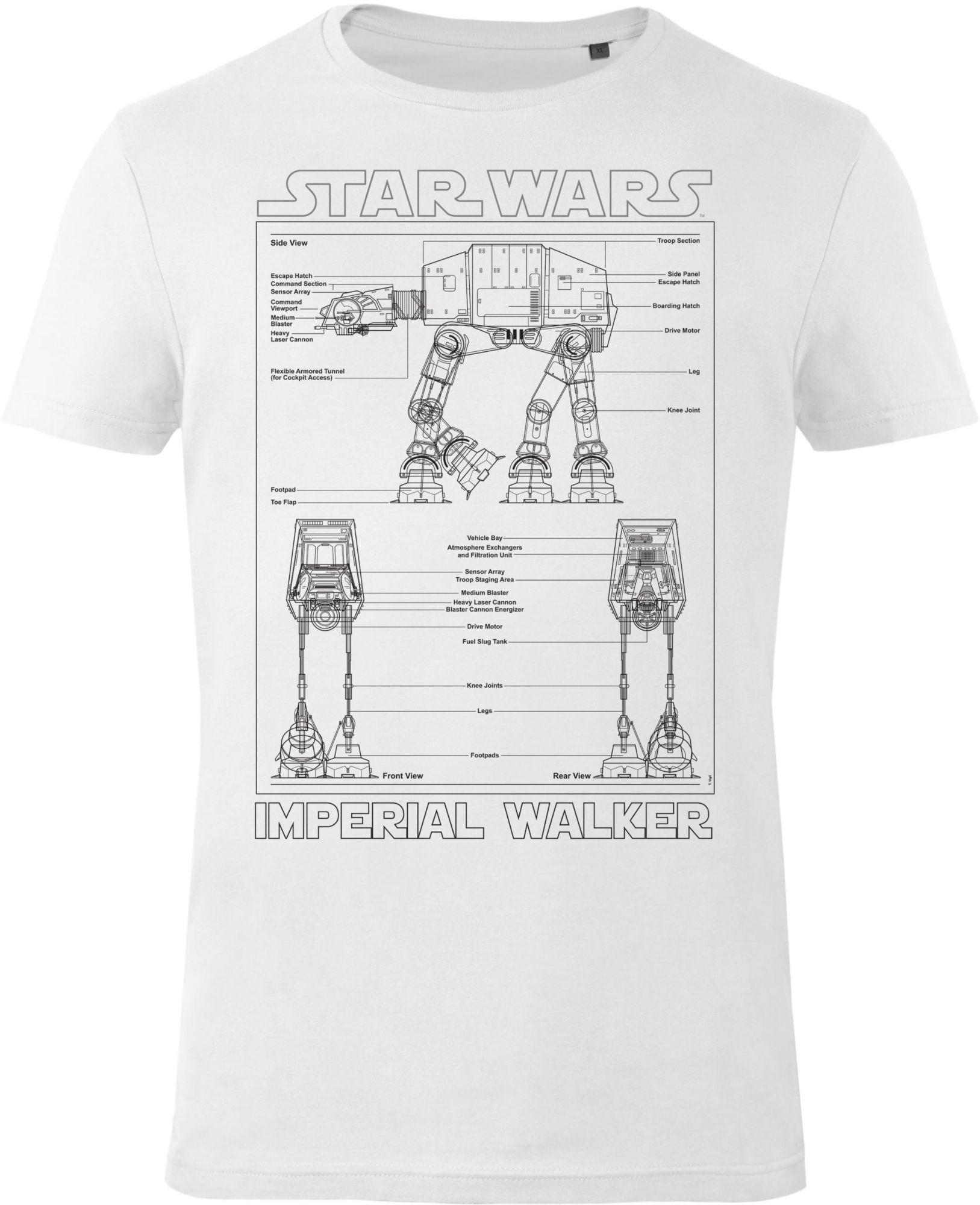 GOZOO Gozoo T-Shirt »Star Wars - Imperial Walker«
