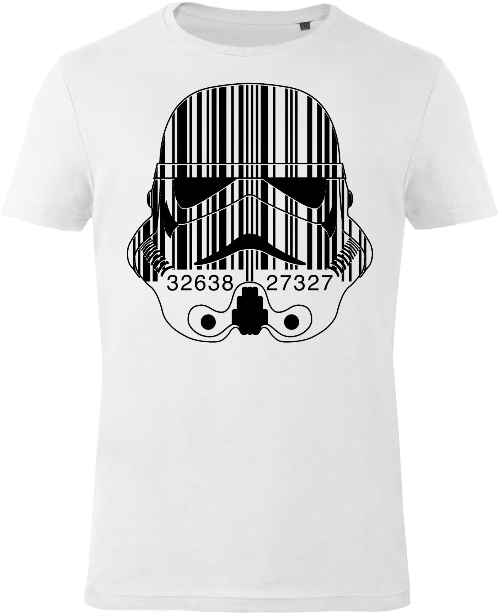 GOZOO Gozoo T-Shirt »Star Wars - Imperial Stormtrooper - Barcode«