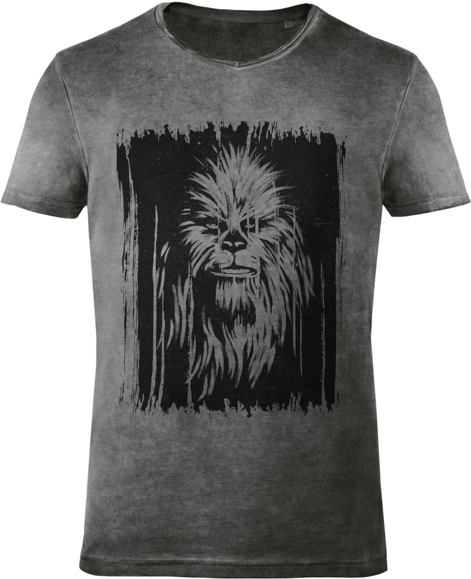 GOZOO Gozoo T-Shirt »Star Wars - Vintage Wookiee Oil Dye«