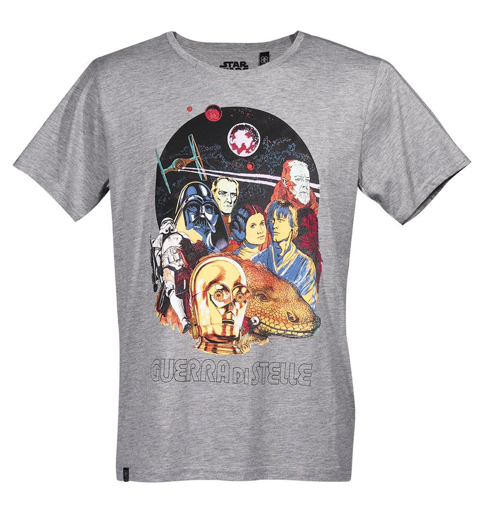 GOZOO Gozoo T-Shirt »Star Wars - 40 years Guerra Di Stelle Movie Poster«