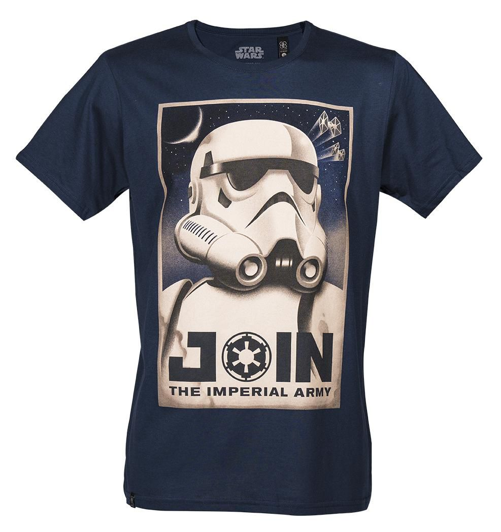 GOZOO Gozoo T-Shirt »Star Wars -  Join the Imperial Army«