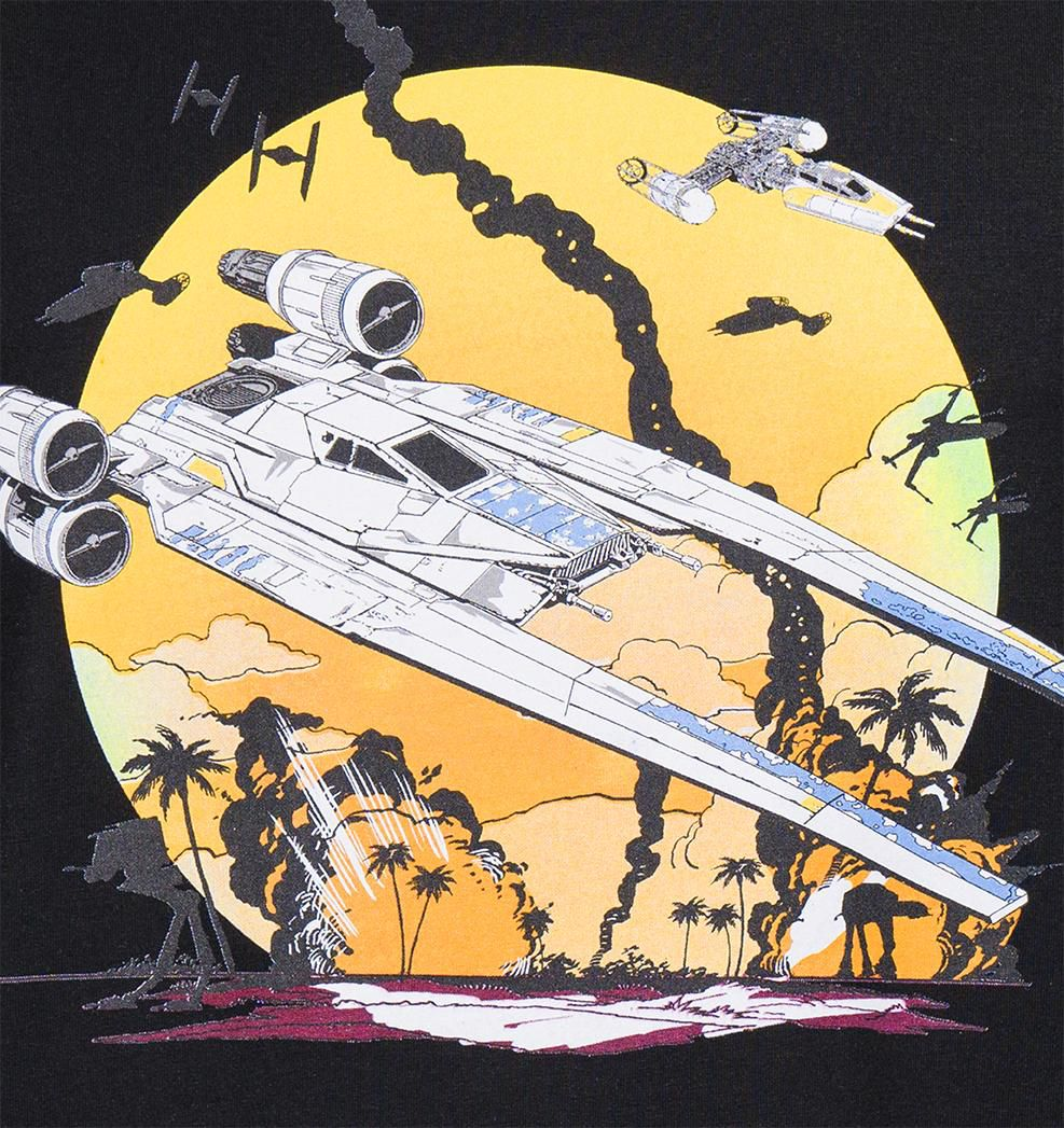 GOZOO Gozoo T-Shirt »Star Wars - Rogue One U-Wing Fighter Rebels«