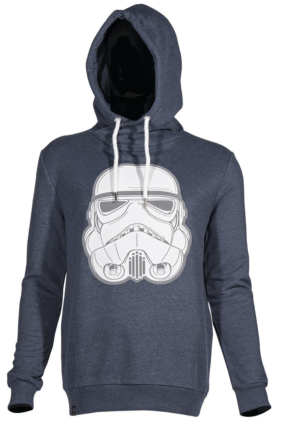 GOZOO Gozoo Hoodie »Star Wars - 3D Imperial Stormtrooper«