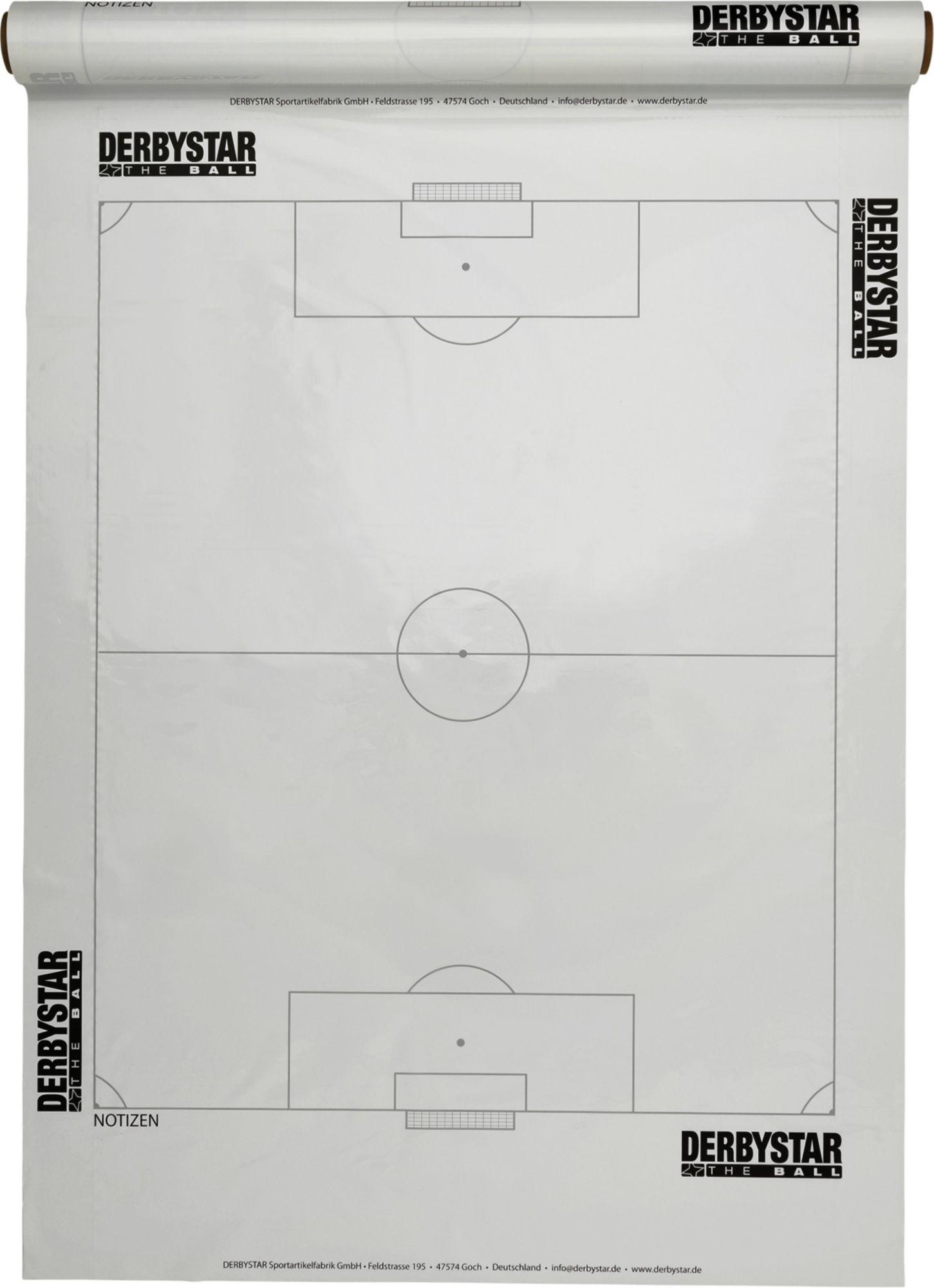 DERBYSTAR  Spielplanfolie Fußball
