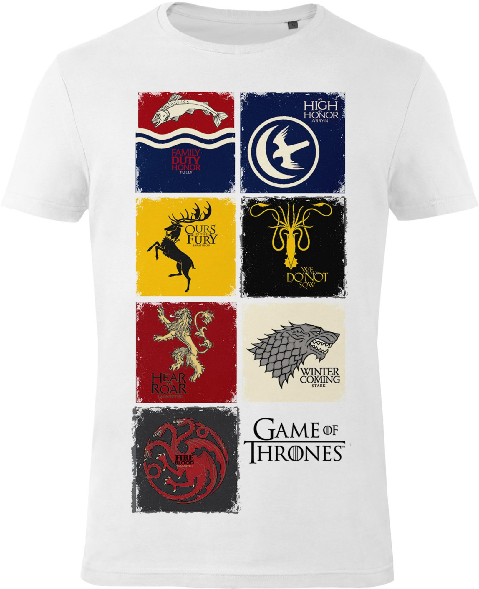 GOZOO Gozoo T-Shirt »Game of Thrones - Sigils of Houses«