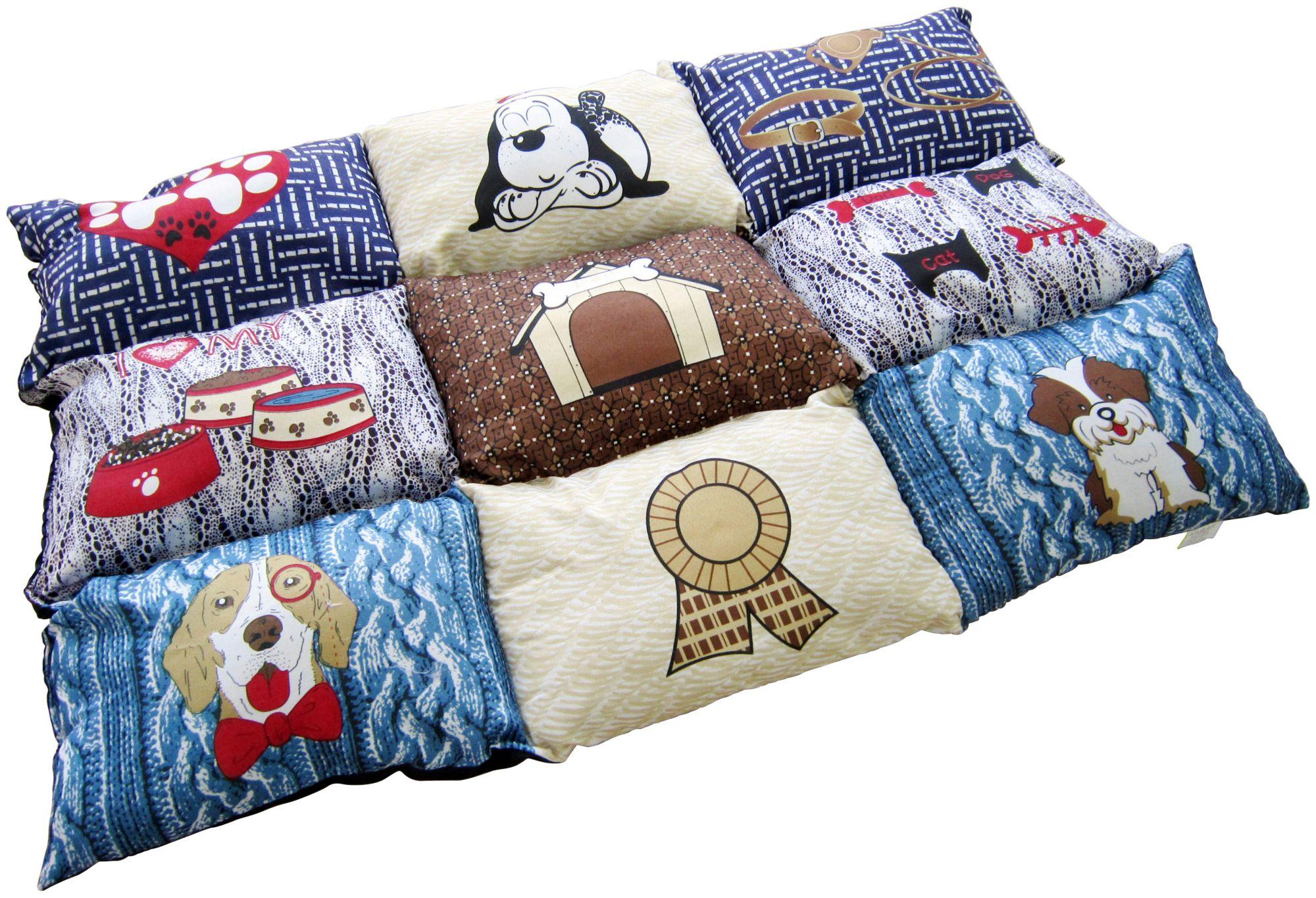 HEIM  Hunde-Decke »Patchwork«, BxL: 55x80 cm, gesteppt, blau