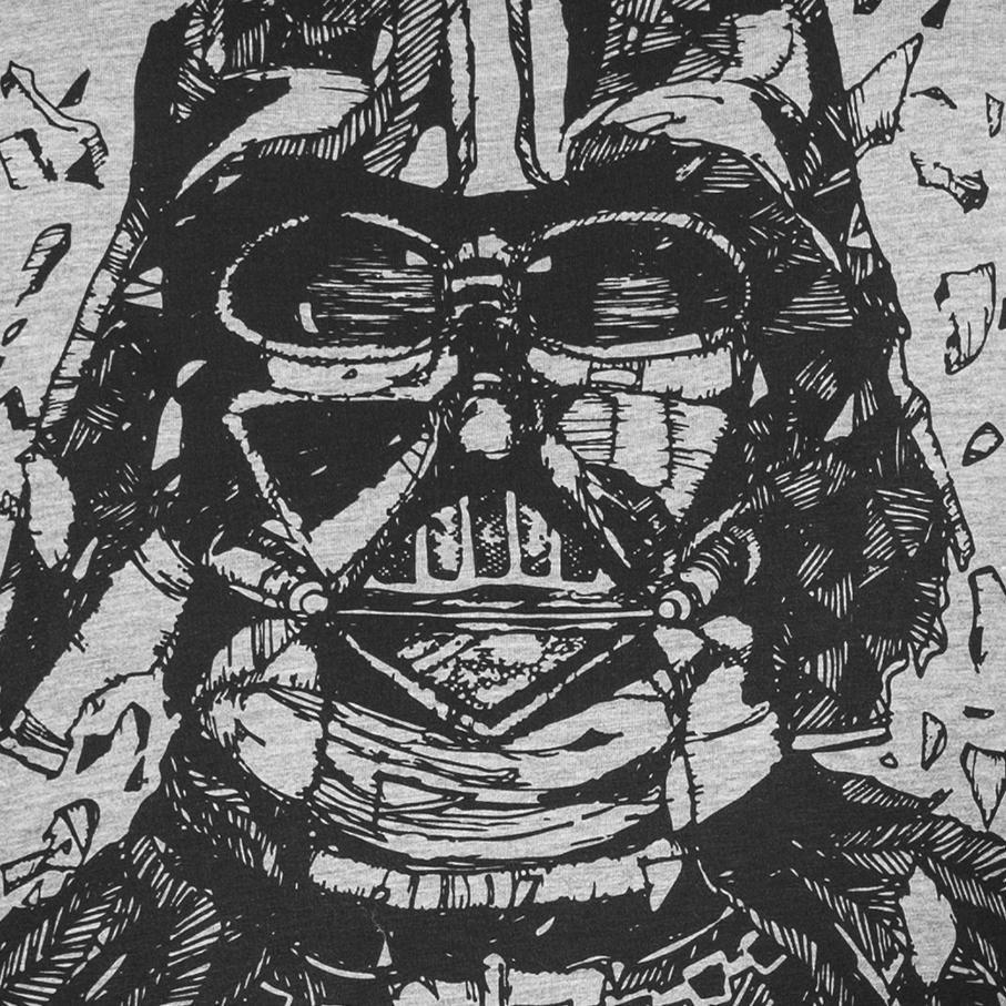 GOZOO Gozoo T-Shirt »Star Wars - Darth Vader pencraft«