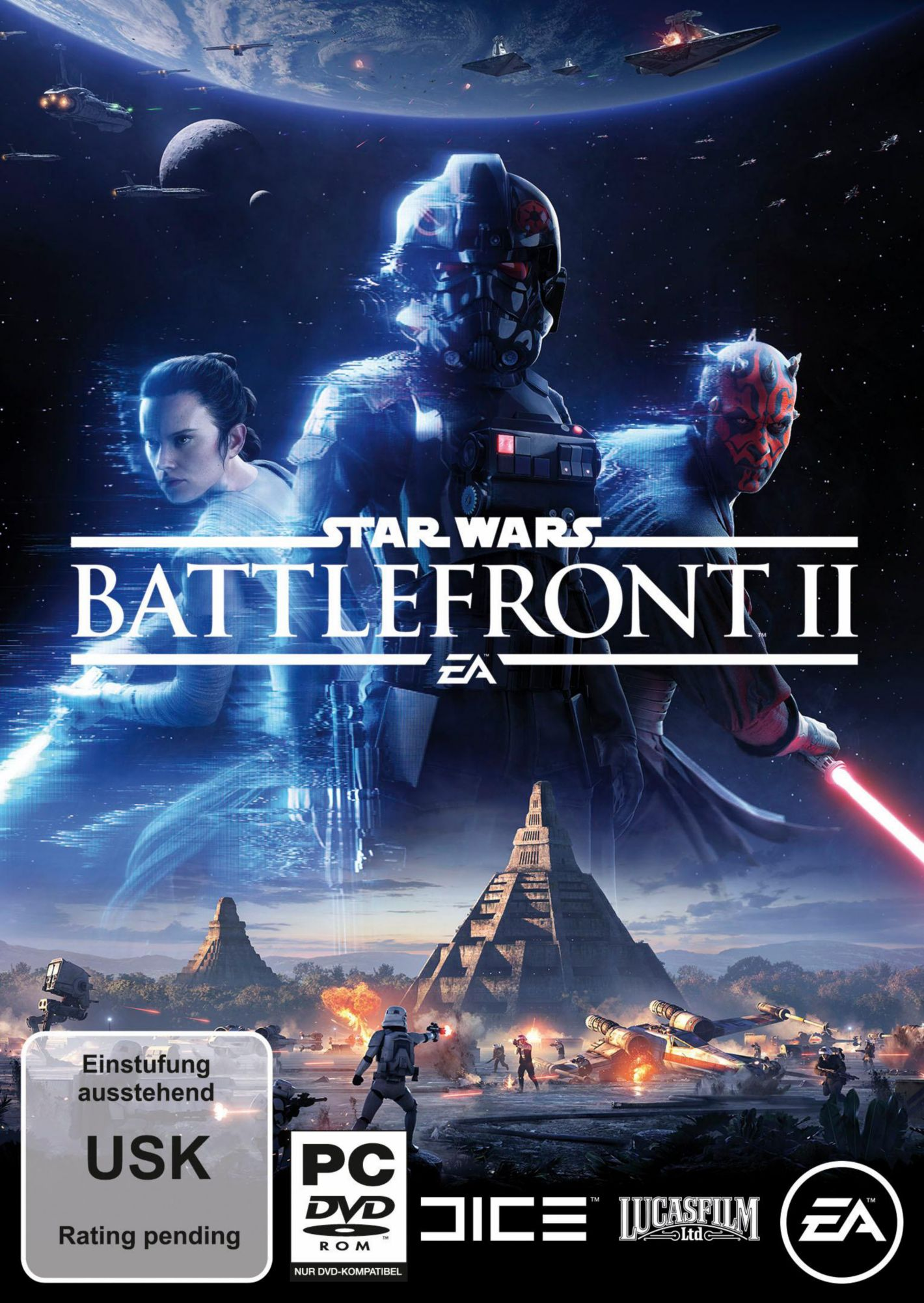 ELECTRONIC ARTS Star Wars Battlefront 2 (Code in der Box) PC