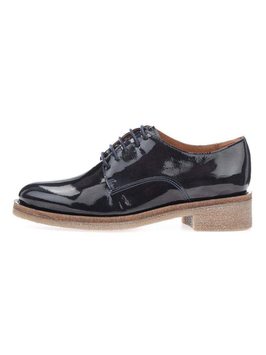 BIANCO Bianco Lässige Patent- Derby-Schuhe