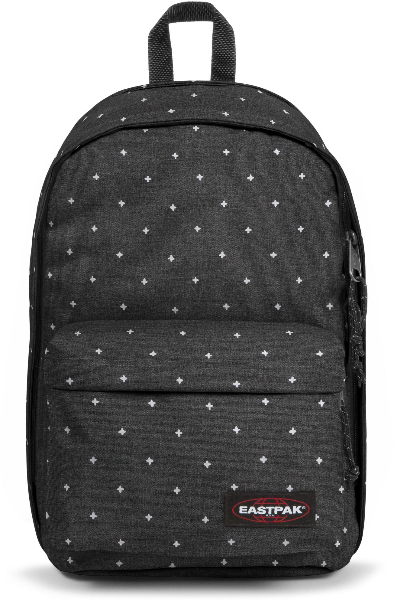 EASTPAK Eastpak Rucksack mit Laptopfach, »BACK TO WORK white crosses«