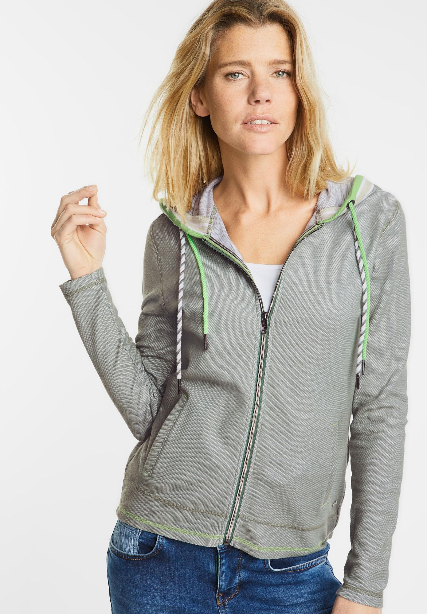 CECIL  College Style Hoody Jacke