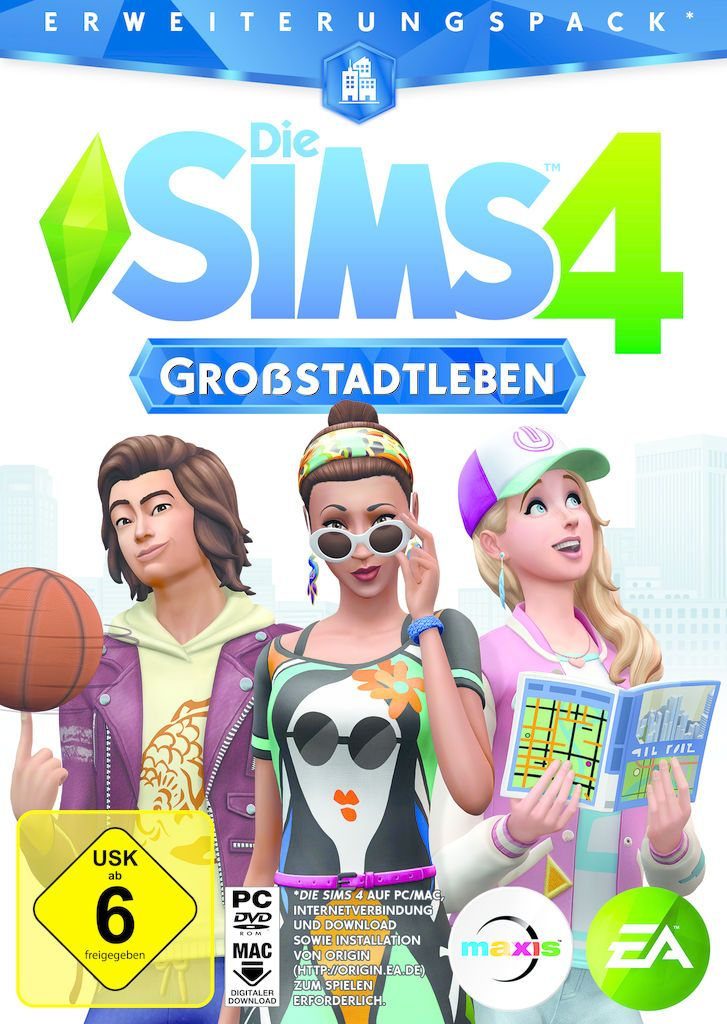 ELECTRONIC ARTS Die Sims 4 - Add On Add-On DE (Download)