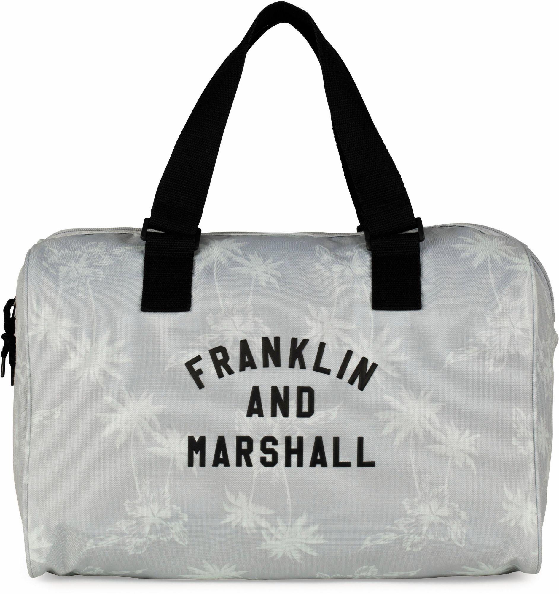 FRANKLIN MARSHALL Franklin & Marshall Schultertasche, »Girls, Palmen, grau«