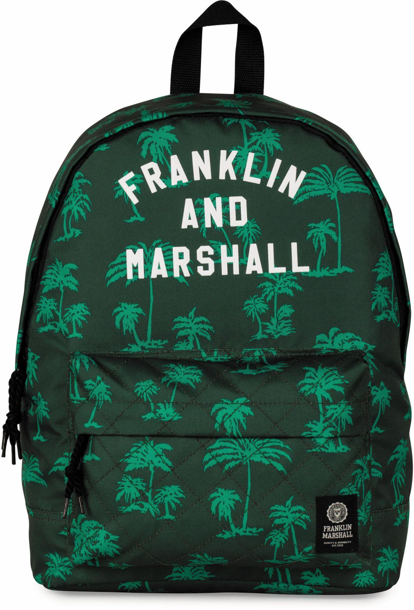 FRANKLIN MARSHALL Franklin & Marshall Rucksack, »Boys, Palmen, grün«