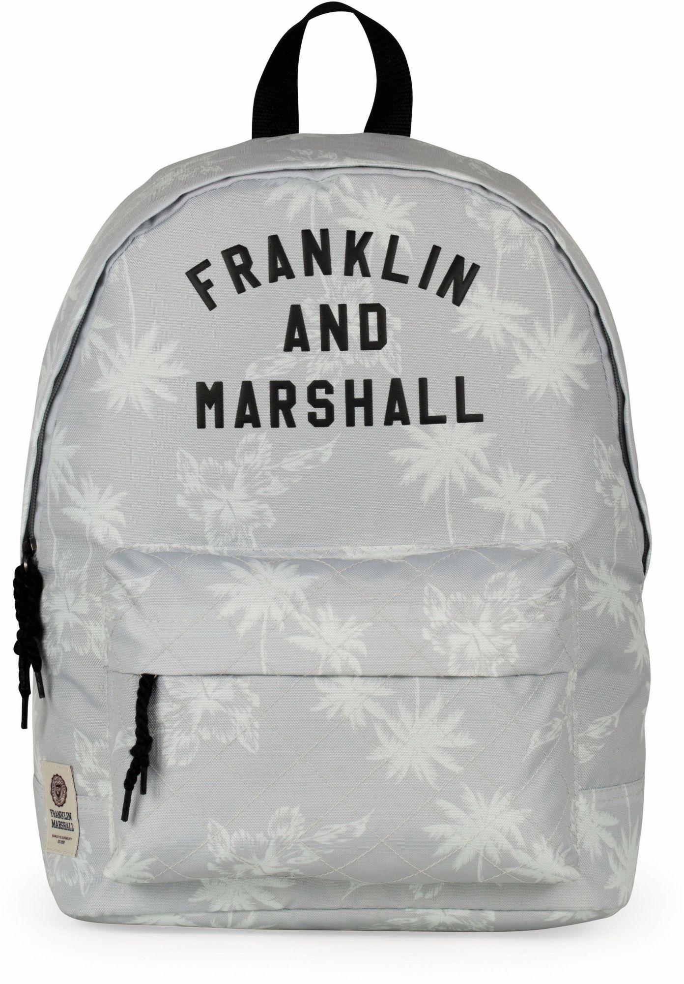 FRANKLIN MARSHALL Franklin & Marshall Rucksack, »Girls, Palmen, grau«
