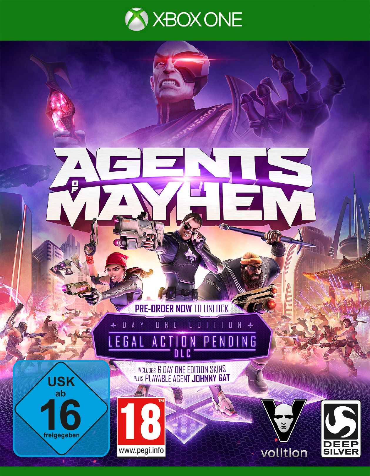 KOCH MEDIA Agents of Mayhem Day One Edition (Xbox One)