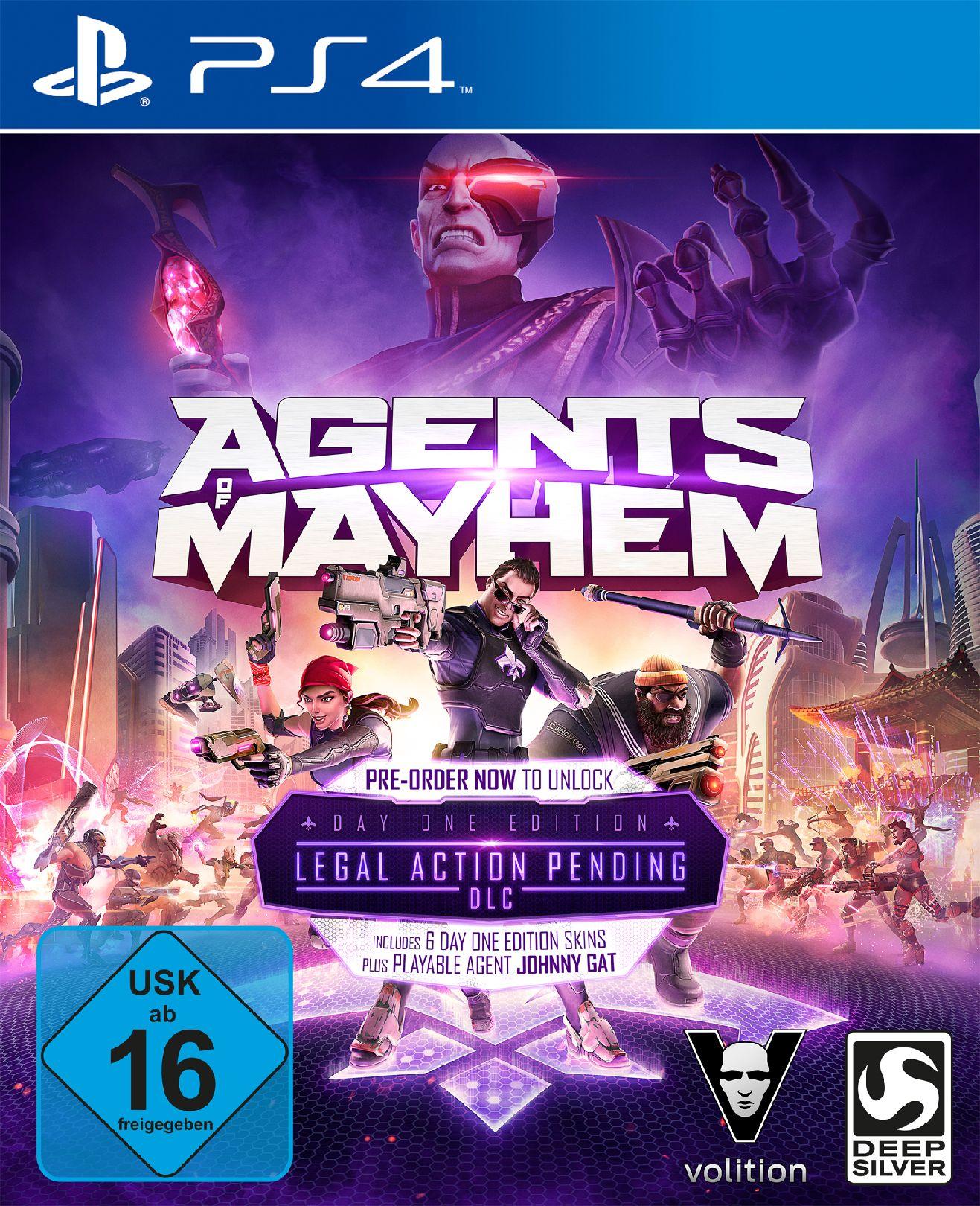 KOCH MEDIA Agents of Mayhem Day One Edition (PS4)