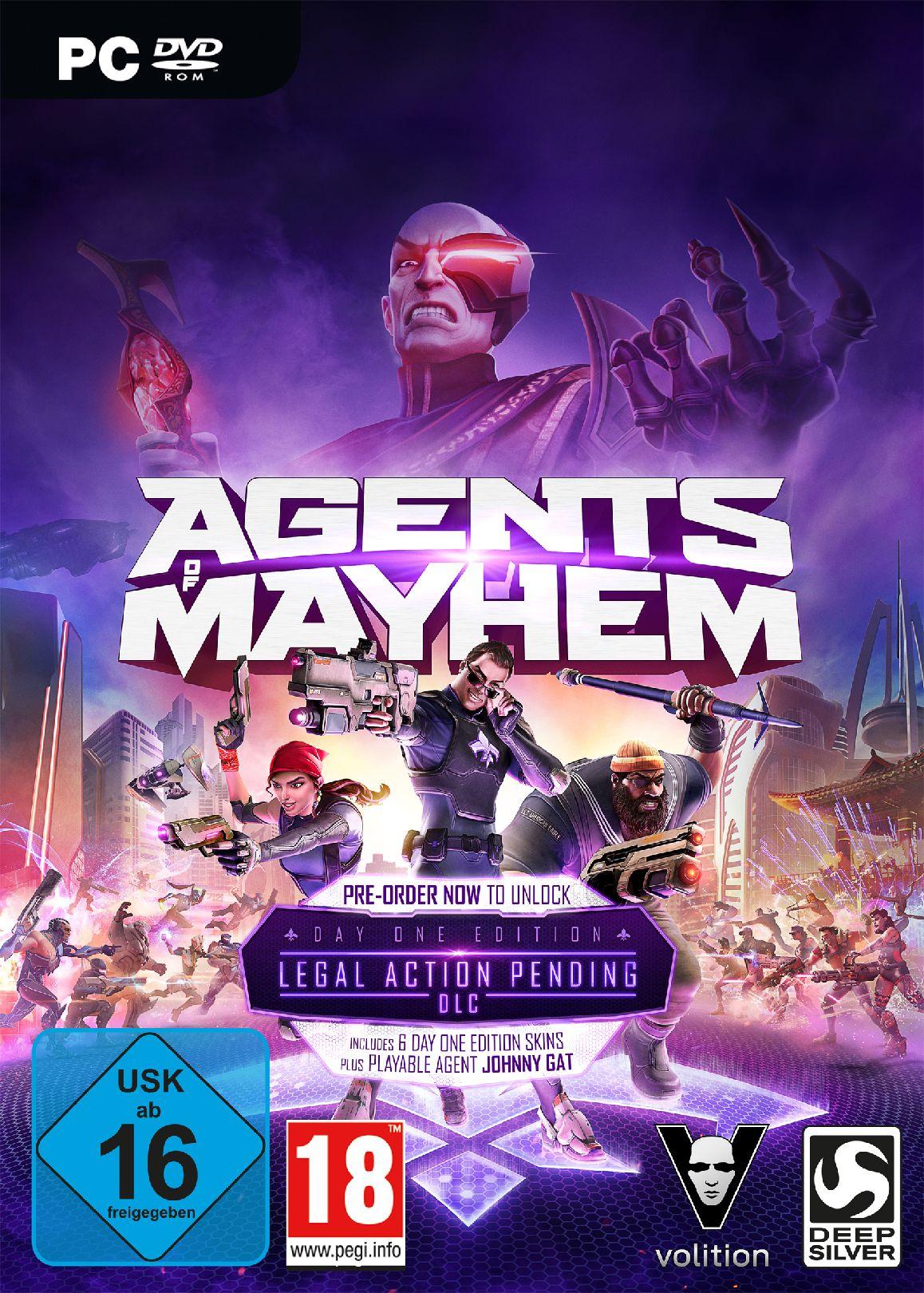 KOCH MEDIA Agents of Mayhem Day One Edition (PC)