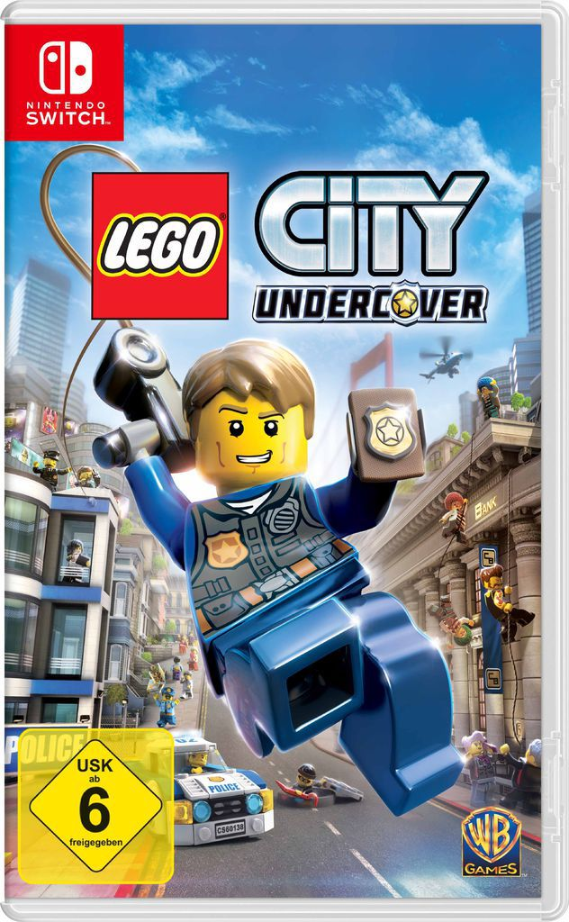 WARNER GAMES Lego City Undercover - Nintendo Switch