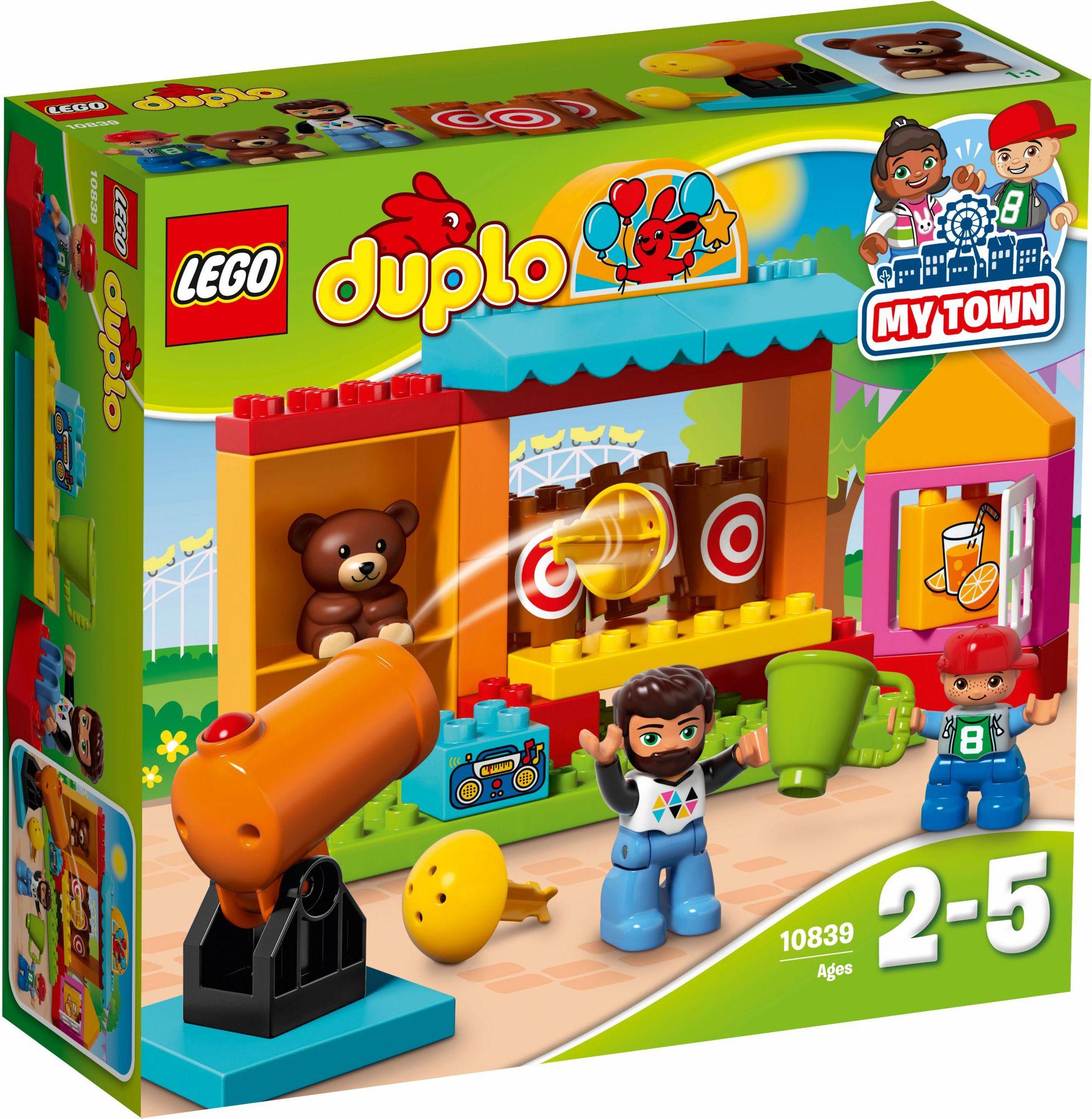 LEGO® 10839 DUPLO Wurfbude, Konstruktionsspielzeug