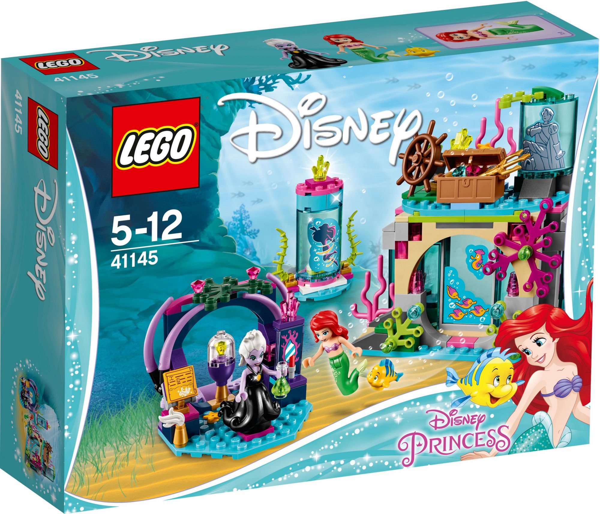 LEGO® 41145 Disney Princess Arielle und der Zauberspruch, Konstruktionsspielzeug