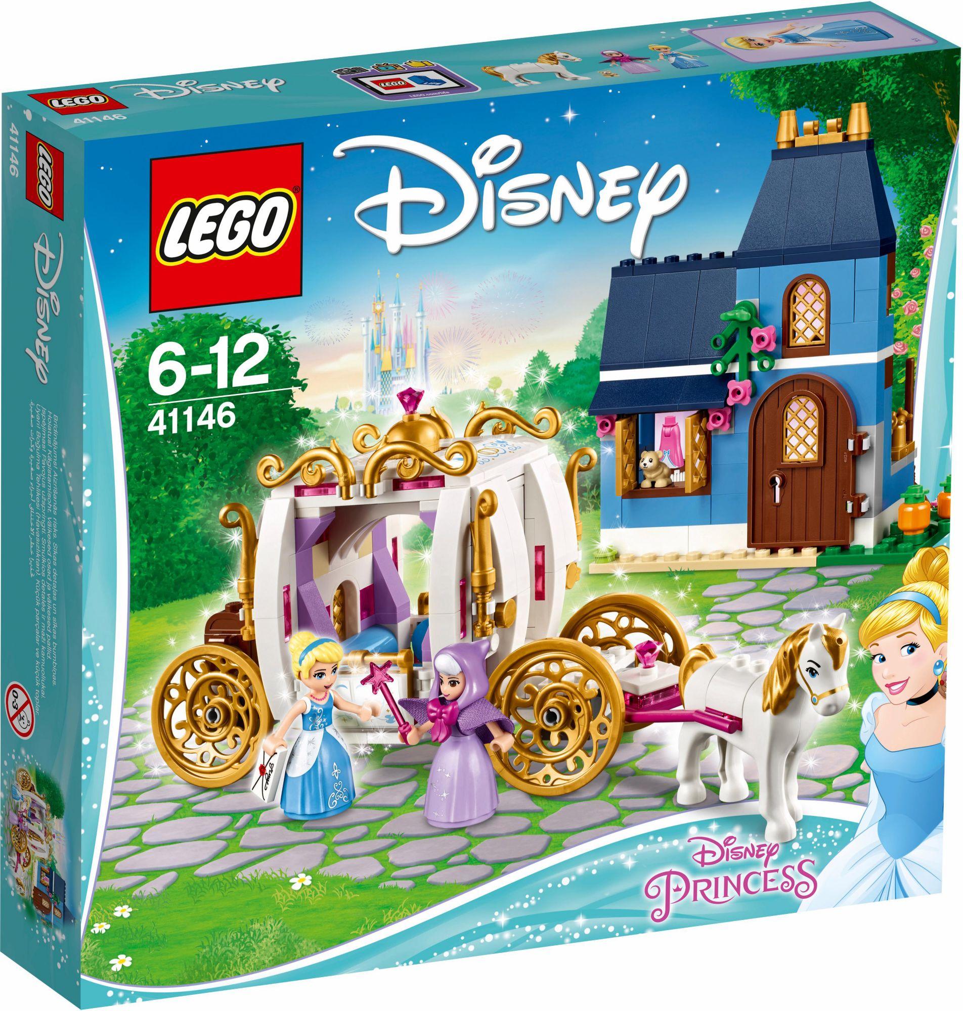 LEGO® 41146 Disney Princess Cinderellas zauberhafter Abend, Konstruktionsspielzeug