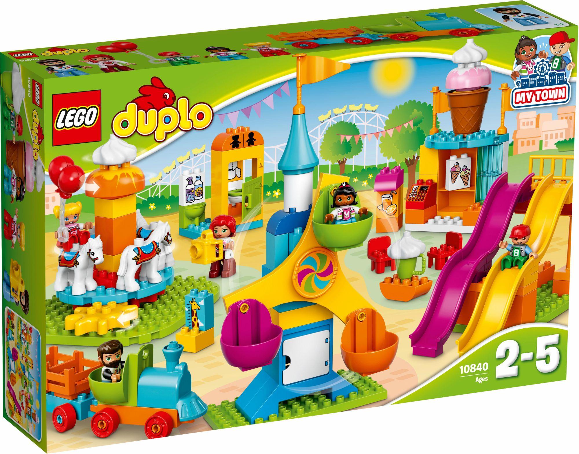 LEGO® 10840 DUPLO Großer Jahrmarkt, Konstruktionsspielzeug