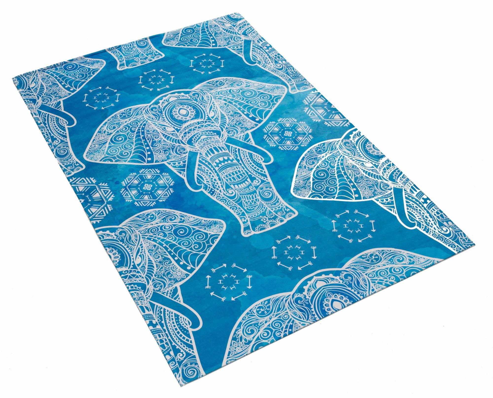 BÖING CARPET Kinderteppich, »Lovely Kids 411«, Böing Carpet, rechteckig, Höhe 6 mm, gedruckt