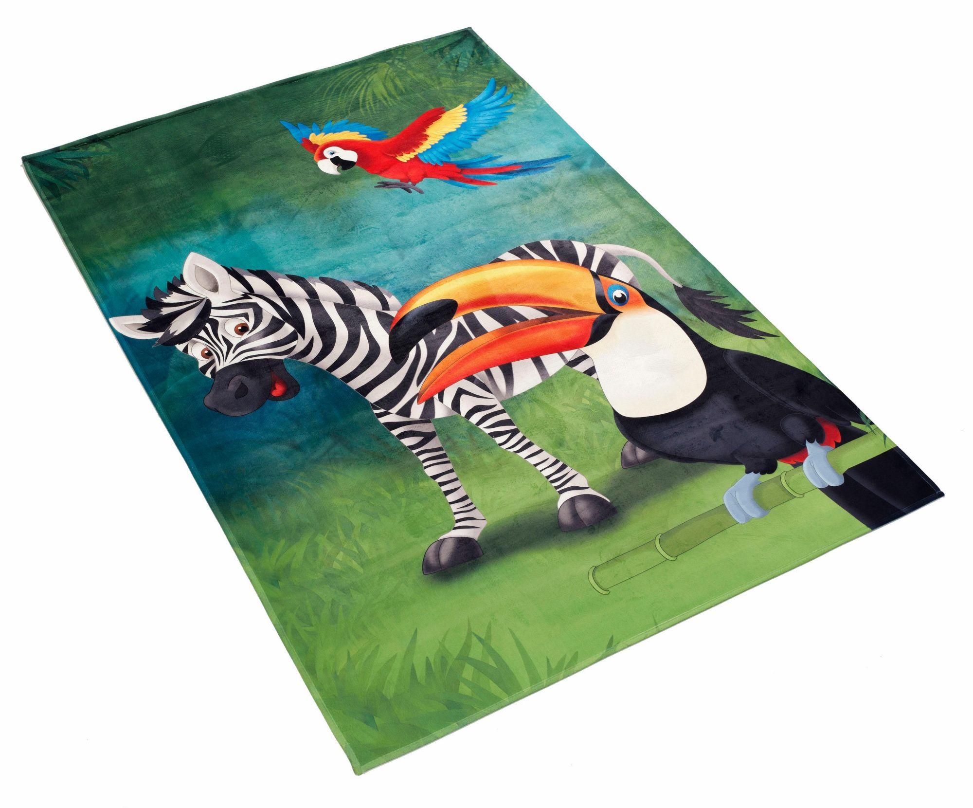 BÖING CARPET Kinderteppich, »Lovely Kids 402«, Böing Carpet, rechteckig, Höhe 6 mm, gedruckt