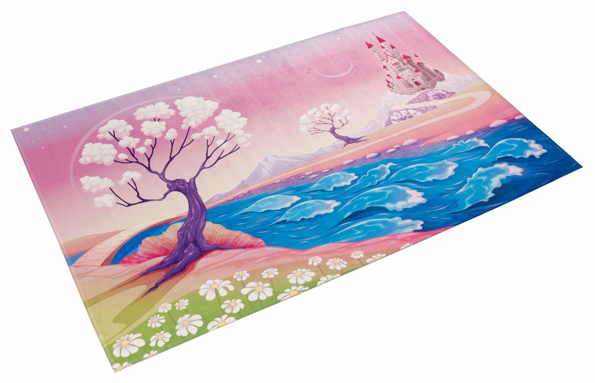 BÖING CARPET Kinderteppich, »Lovely Kids 405«, Böing Carpet, rechteckig, Höhe 6 mm, gedruckt