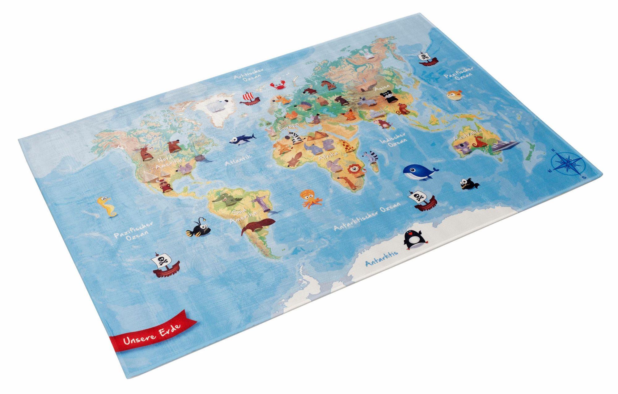 BÖING CARPET Kinderteppich, »Lovely Kids 413«, Böing Carpet, rechteckig, Höhe 6 mm, gedruckt