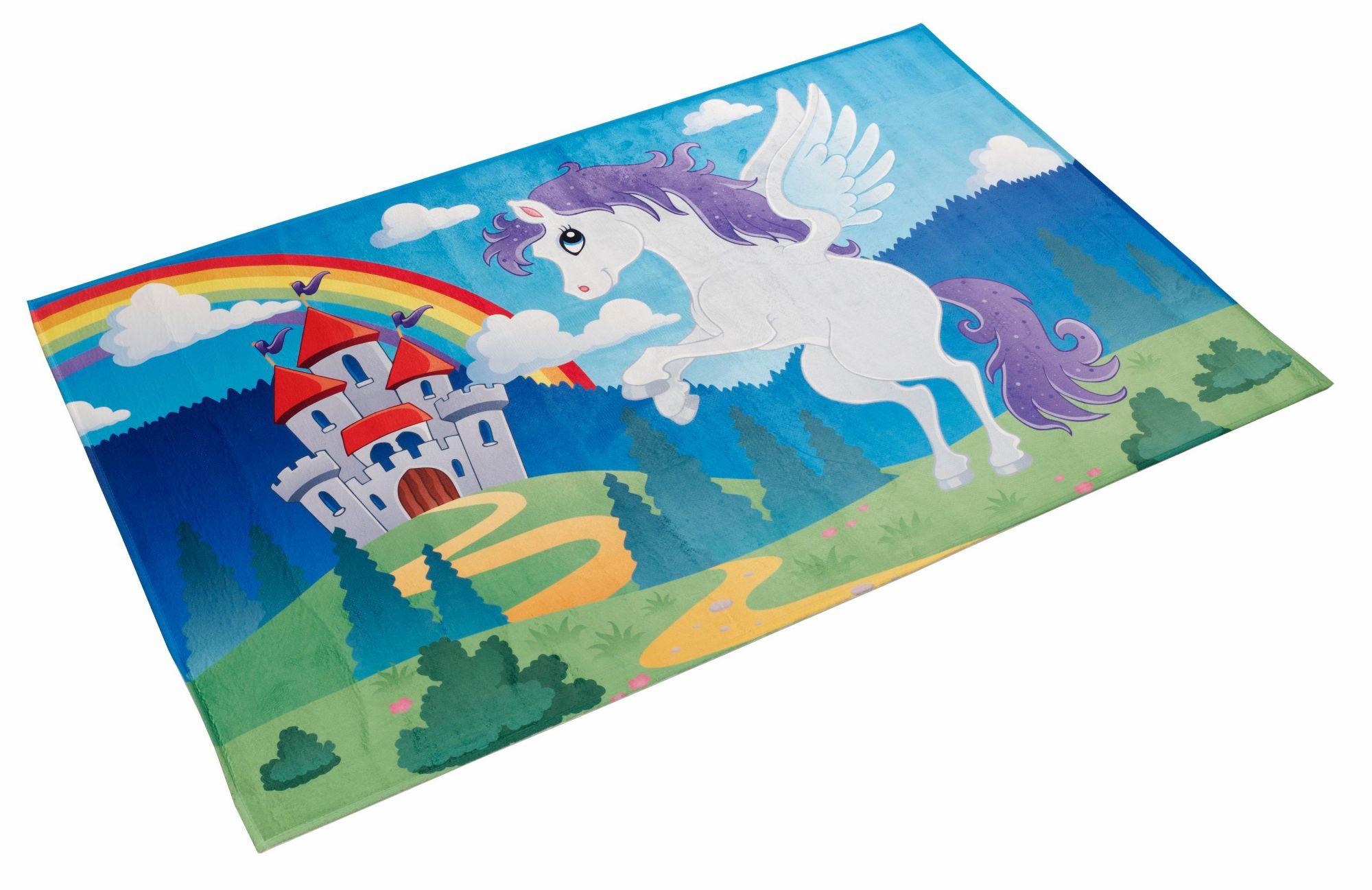 BÖING CARPET Kinderteppich, »Lovely Kids 401«, Böing Carpet, rechteckig, Höhe 6 mm, gedruckt