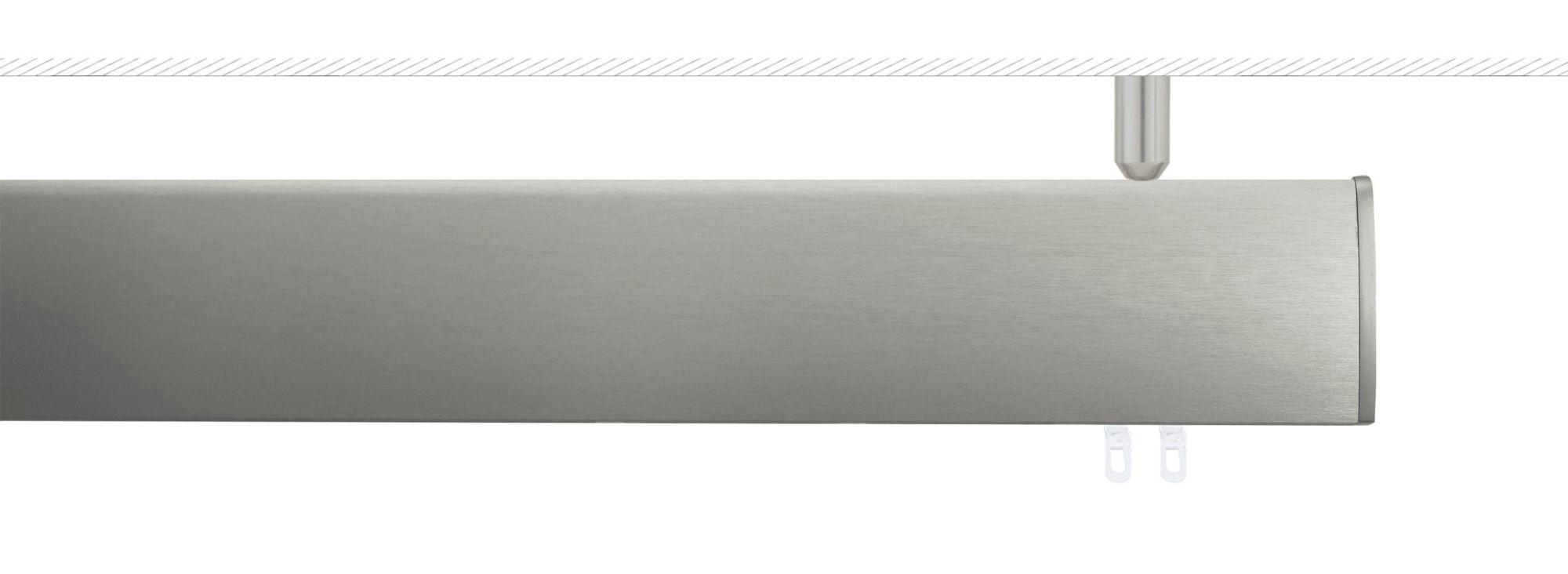 INDEKO Alu-Innenlaufschiene, indeko, »Ovum2«, mit Deckenträger rund 1-läufig nach Maß