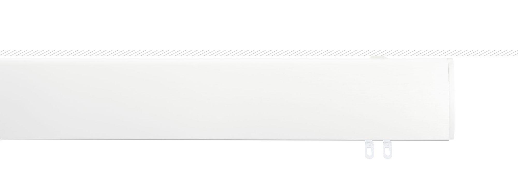 INDEKO Alu-Innenlaufschiene, indeko, »Ovum1«, mit Deckenträger flach 1-läufig nach Maß